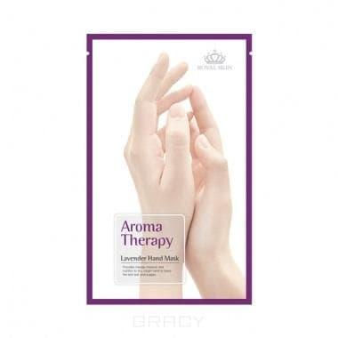 Royal Skin, Маникюрные перчатки Aromatherapy Увлажняющие Lavender, 2 шт