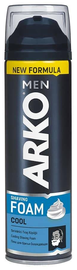 Arko Men, Пена для бритья Cool, 200 мл пена для бритья зачем