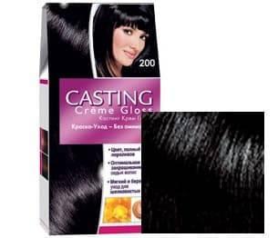 L'Oreal, Краска для волос Casting Creme Gloss (37 оттенков), 254 мл 200 Черное дерево