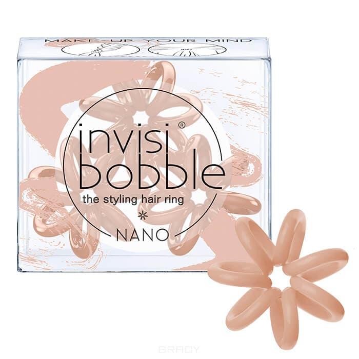 Резинка для волос нюдовый цвет Make-Up Your Mind (3 шт.) vikki&lilli резинка для волос цвет коралловый 3 шт