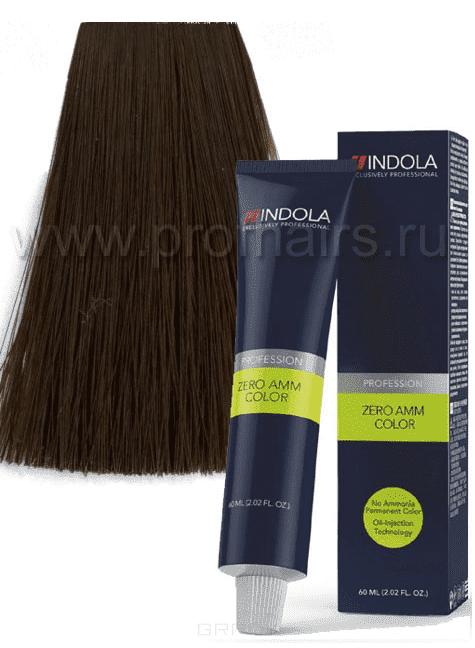 Indola, Zero Amm Стойкий краситель на масляной основе без аммиака, 60 мл (35 оттенков) 5-84 светлый коричневый шоколадный медныйОкрашивание<br><br>