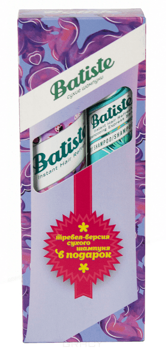 Купить Batiste, Набор Sweetie сухой шампунь 200 мл + Original сухой шампунь Батист