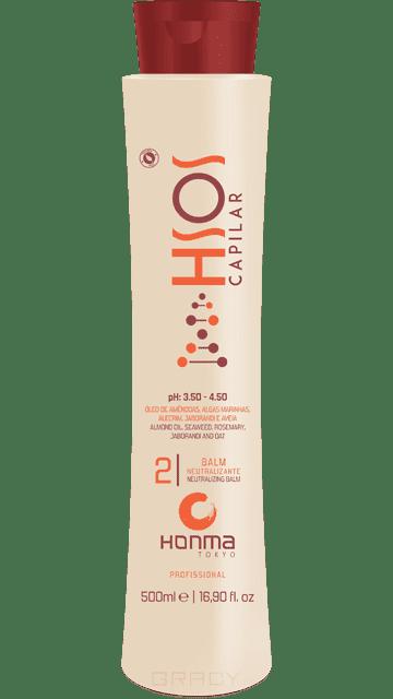 Honma Tokyo, Бальзам-нейтрализатор H-SOS Balm Neutralizante, 500 мл honma tokyo шампунь глубокой очистки линии n solutions 1000 мл