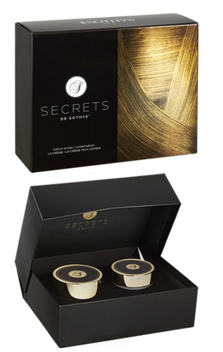 Купить Sothys, Подарочный набор Secrets de Sothys 2019 (омолаживающий крем для лица + крем-бальзам для контура глаз и губ), 50/15 мл