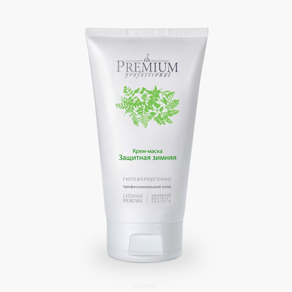 Premium, Крем-маска Защитная зимняя, 75 мл premium крем маска защитная летняя салонная косметика премиум premium гп070077 75 мл