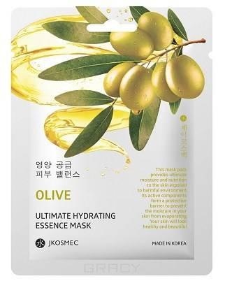Купить Jkosmec, Ежедневная увлажняющая маска с экстрактом оливы Olive Ultimate Hydrating Essence Mask, 25 мл