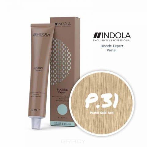 цены Indola, Индола краска для волос профессиональная Profession, 60 мл (палитра 141 цвет) Блонд Эксперт Краситель для тонирования волос P.31 блонд золотистый пепельный