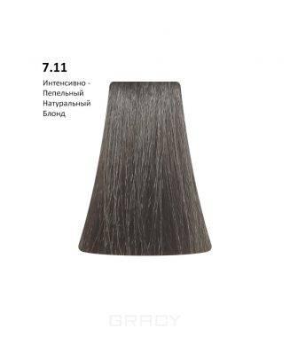 Купить BB One, Перманентная крем-краска Picasso (153 оттенка) 7.11Intensive Ash Natural Blond/Интенсивно-Пепельный Натуральный Блондин