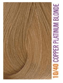 Купить Lakme, Крем-краска для волос тонирующая Gloss, 60 мл (54 оттенка) 10/40 Белокурый платиновый медно-красный