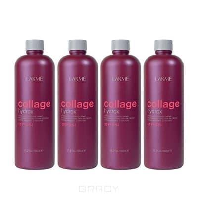 Lakme, Стабилизированный крем-окислитель для волос Collage hydrox (3, 6, 9, 12%) 12%, 40V alpha hydrox 12