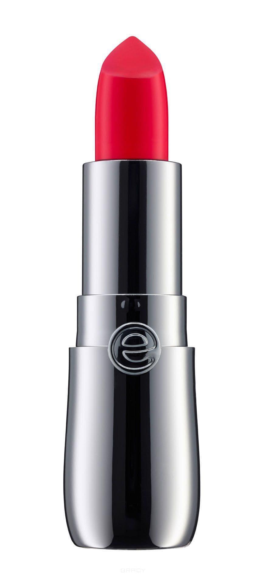 все цены на Essence, Сияющая губная помада Colour Up! Shine On! Lipstick, 3.5 гр (12 тонов) №06, ярко-красный онлайн
