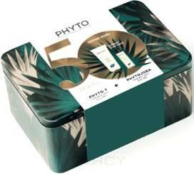 Купить Phytosolba, Набор: Фитожоба для интенсивного увлажнения сухих волос + Фито 7 увлажняющий крем, 100 + 50 мл
