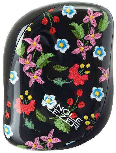 Tangle Teezer, Расческа для волос Compact Styler Embroidered Floral floral embroidered tie waist hijab dress