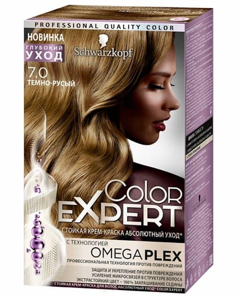 Schwarzkopf Professional, Краска для волос Color Expert (22 оттенков) 7.0 Темно-русый schwarzkopf professional краска для волос color expert 22 оттенков 4 68 лесной орех 1 шт