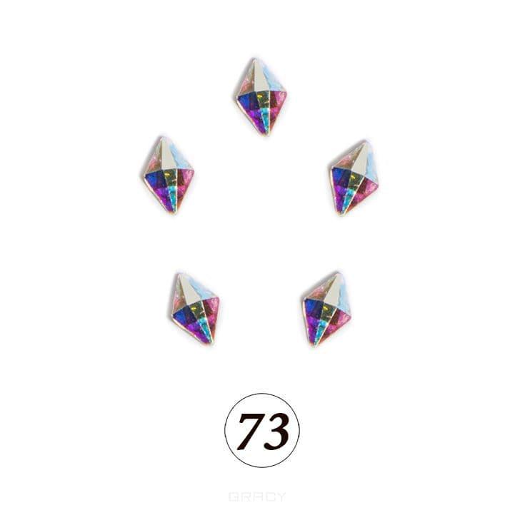 Купить Planet Nails, Цветные фигурные стразы в ассортименте (76 видов), 5 шт/уп Планет Нейлс №73