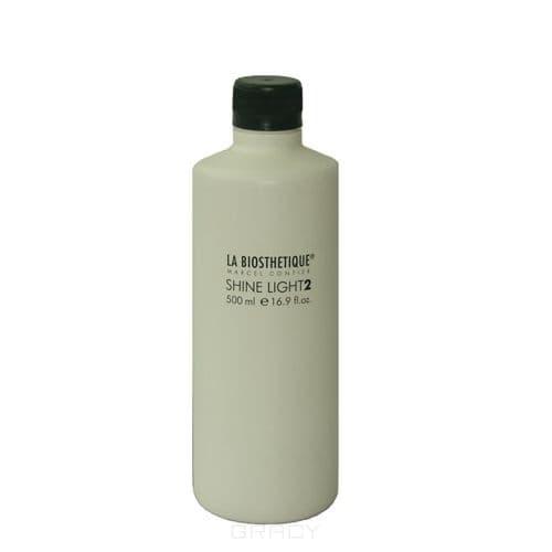 La Biosthetique, Эмульсия оксидант для щадящего осветления Shine Light 2, 500 мл la biosthetique краска тоник для волос shine