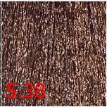 Купить Kaaral, Перманентный краситель для волос Maraes Color Nourishing, 60 мл (58 тонов) 5.38 светлый каштан золотисто коричневый