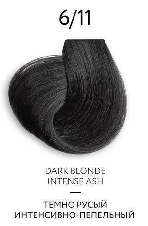 Купить OLLIN Professional, Перманентная крем-краска для волос Color Platinum Collection, 100 мл (17 оттенков) 6/11 Темно-русый интенсивно пепельный