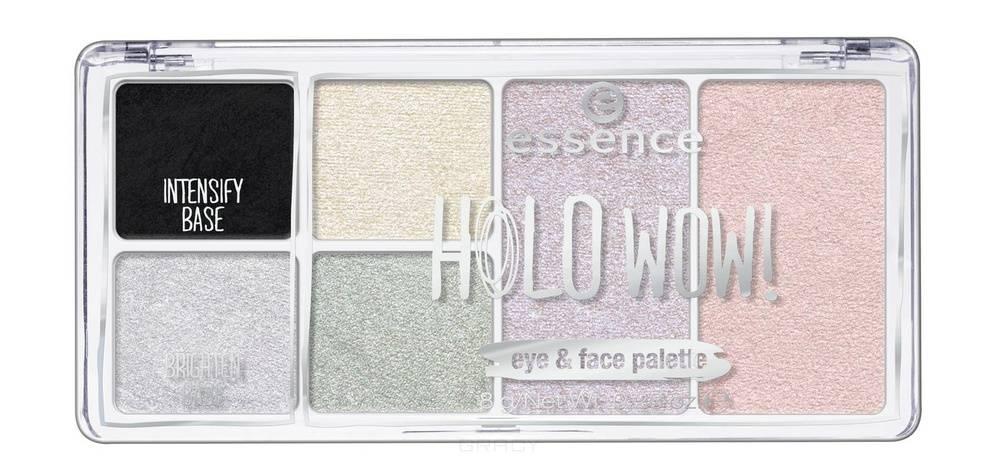 Купить Essence, Палетка для макияжа глаз и лица: тени для век и хайлайтер Holo Wow №04, 8 гр