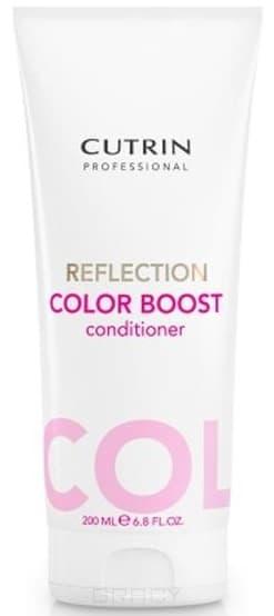 Кондиционер для усиления цвета окрашенных волос Reflection Color Boost ConditionerОттеночный кондиционер Reflection Color Boost Conditioner усиливает цвет окрашенных волос любых оттенков и придает яркий мерцающий блеск. &#13;<br>Помогает продлить цвет волос, оказывает глубокое питание окрашенным волосам. Ультрафиолетовый фильтр защищает от негативного солнечного влияния. Малина сохраняет цвет ярким, предотвращает волос от повреждений и ломкости. Кондиционер подходит для ежедневного использования.<br>
