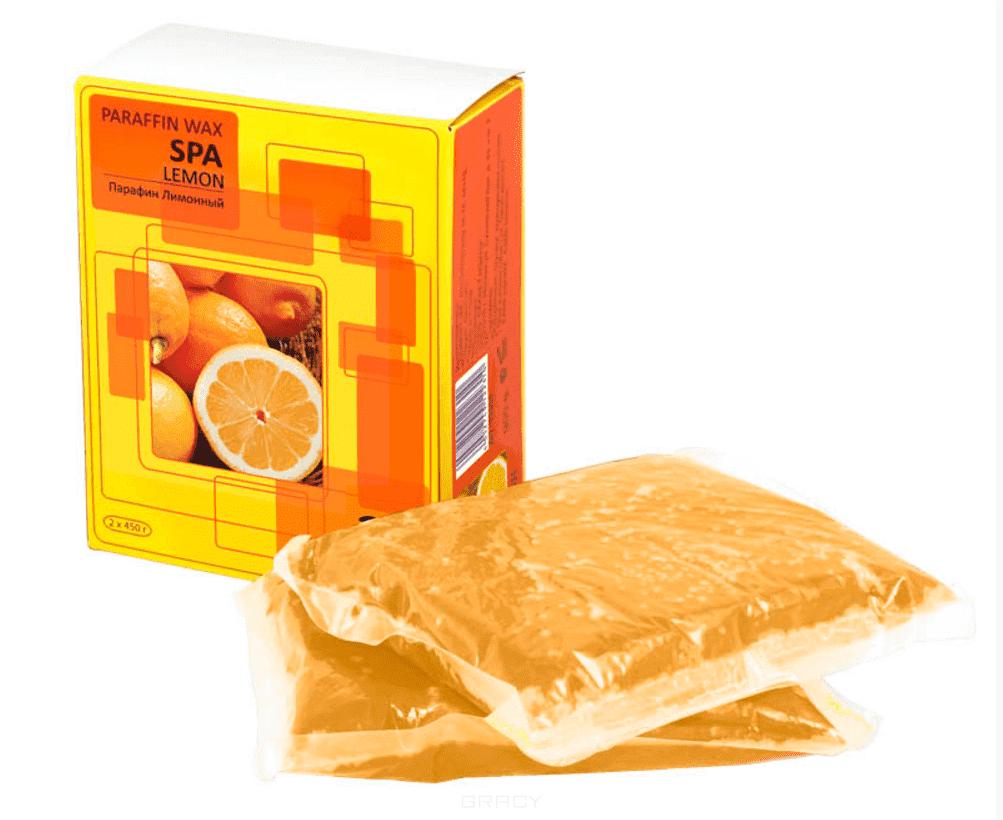 Planet Nails, Парафин лимонный 900гр (2шт по 450гр в упаковке)Парафин<br><br>