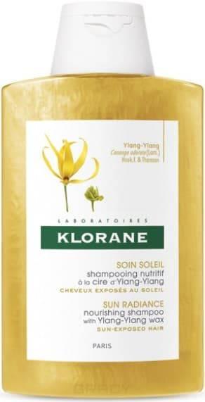 Klorane, Шампунь совершенствующий с воском Иланг-иланг Ylang-Ylang, 200 мл kapous ylang ylang шампунь для волос с эфир маслом иланг иланг 250 мл