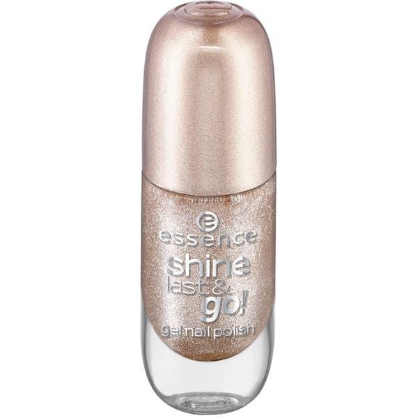 лучшая цена Essence, Лак для ногтей с эффектом геля Shine Last & Go, 8 мл (50 оттенков) №44, светло-золотой