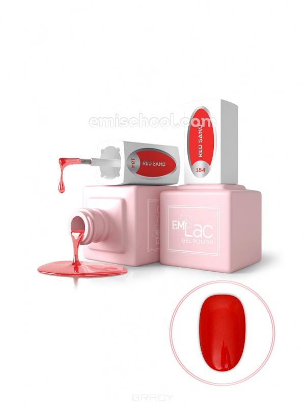 Купить E.Mi, Гель-лак для ногтей, E.MiLac №184 GR Красный песок