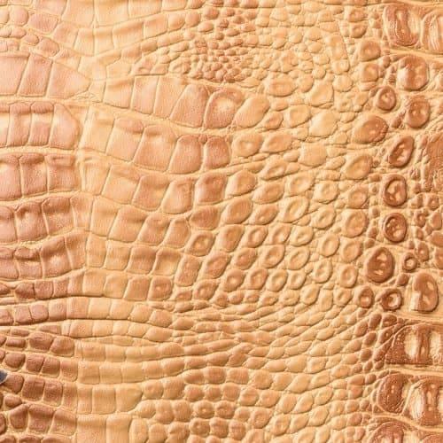 Имидж Мастер, Пуф для салона красоты со спинкой Диалог Модуль №1 (48 цветов) Бежевый крокодил 3819