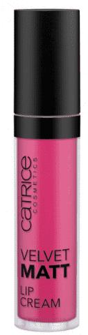 Catrice, Кремовая губная помада Velvet Matt Lip Cream (8 оттенков), 1 шт, тон 050, красно-розовый, Brooklyn Pink-ster помадакрем для губ velvet matt lip cream catrice губы