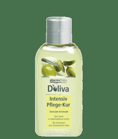 Бальзам-интенсив для сухих и поврежденных волос, 100 млОписание:&#13;<br> &#13;<br> Бальзам-интенсив для сухих и поврежденных волос D'oliva содержит тосканское оливковое масло и касторовое масло. Бальзам глубоко проникает в структуру волос, восстанавливает пересушенные волосы, облегчает расчесывание, нейтрализует электростатическое напряжение. Данное средство обеспечивает питание и уход за длинными поврежденными волосами.&#13;<br> &#13;<br> Способ применения:&#13;<br> &#13;<br> Нанести на влажные волосы и оставить на 5-7 минут, тщательно ополоснуть. &#13;<br> &#13;<br> Состав:&#13;<br> &#13;<br> Aqua, Glyceryl Stearate, Beheneth-10, Olea Europea Oil, PEG-10 Olive Glycerides, Guar Hydroxypropyltrimonium Chloride, Phenoxyethanol, Parfum, Methylparaben, Butylparaben, Ethylparaben, Citric Acid, Propylparaben, Isobutylparaben, CI 47005, CI 75815, Butylphenyl Methylpropional, Linalool, Citronellol, Limonene, Geraniol.<br>