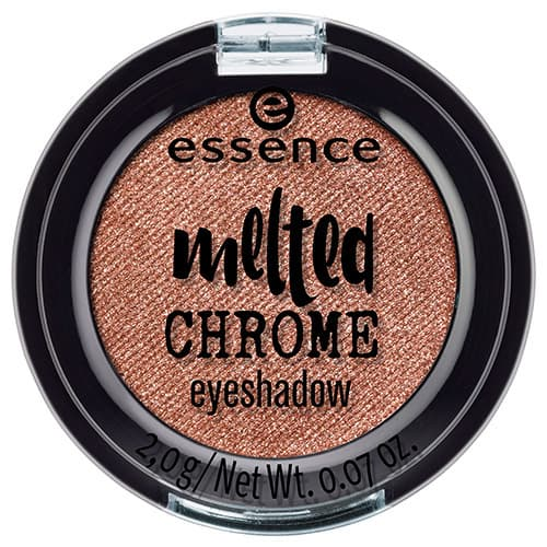 Купить Essence, Тени для век Melted Chrome, 2 гр (6 тонов) №02, бронзовый
