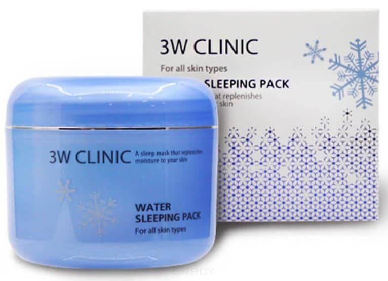 Купить 3W Clinic, Ночная гель-маска для лица суперувлажнение Water Sleeping Pack, 100 мл