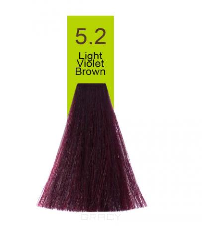 Купить Macadamia Natural Oil, Краска для волос Oil Cream Color, 100 мл (97 тонов) 5.2 Светлый радужный каштановый