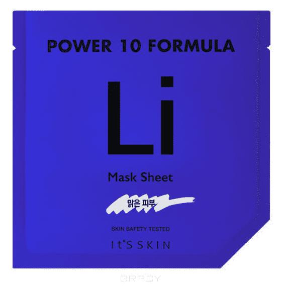 Купить It's Skin, Power 10 Formula Mask Sheet LI Тканевая маска успокаивающая Итс Скин, 25 мл