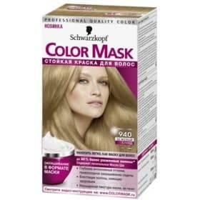 Schwarzkopf Professional, Краска для волос Color Mask, 60 мл (16 оттенков) 940 Бежевый блондОкрашивание<br>Краска Schwarzkopf Color Mask   уникальная разработка для окрашивания и ухода за волосами<br> <br>Краска для волос Color Mask – уникальная разработка немецкой компании Schwarzkopf. Продукт имеет консистенцию маски, что повышает его эффективность и упрощает ...<br>