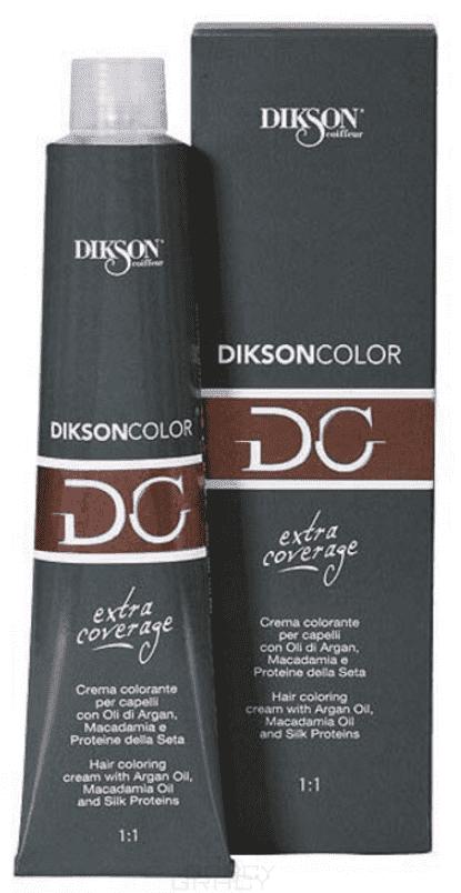 Dikson, Стойкая парфюмированная крем-краска для волос Extra Coverage, 120 мл (8 оттенков) 122-06 6C/E Темно-русый с пепельным оттенком цена