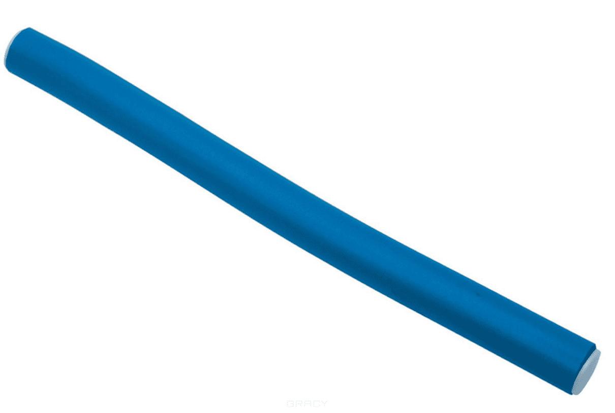 цена на Dewal, Бигуди-бумеранги (5 цветов) Синие d14ммх180мм