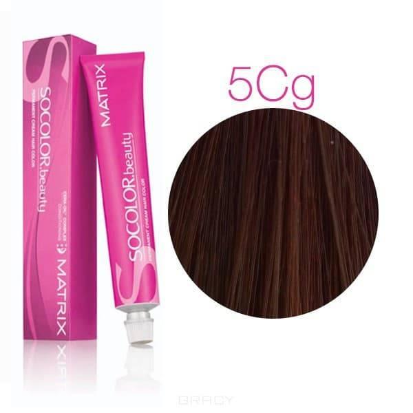 Matrix, Крем-краска для волос SoColor.Beauty, 90 мл (117 оттенков) SOCOLOR.beauty 5СG светлый шатен Медно-ЗолотистыйОкрашивание<br><br>