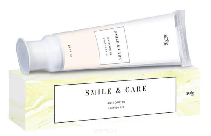 Smile Care, Зубная паста с жемчужной пудрой для защиты от кариеса Anticavity Toothpaste, 70 мл pearl drops зубная паста молодая улыбка каждый день youthful smile 50 мл