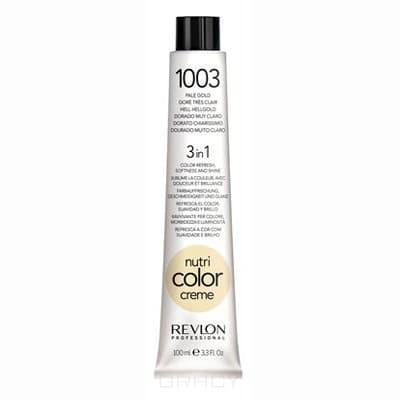Revlon, Крем-краска 3 в 1 Nutri Color Creme, (29 оттенков) 1003 Очень светлый золотойОкрашивание волос Revlonissimo Colorcosmetique, Hight Coverage, Nutri Color Creme и др.<br><br>