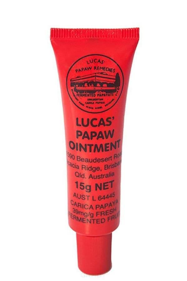 Lucas Papaw, Бальзам для губ Ointment Лукас Папайя, 25 грДля губ<br>Бальзам Lucas Papaw - забудьте о сухой коже и трещинках на губах<br> <br>В косметичке каждой модницы всегда должен быть бальзам, бережно ухаживающий за кожей губ. Дело в том, что здесь нет потовых желез, именно поэтому губы в любое время года кажутся сухими, ...<br>
