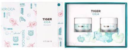 It's Skin, Набор уходовых кремов для лица с центеллой азиатской Tiger Cica mini kit (2pcs) 2pcs on4897 new