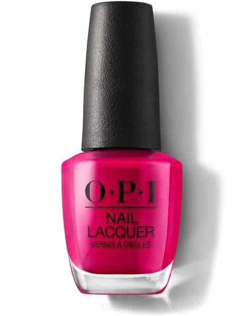 Купить OPI, Лак для ногтей Nail Lacquer, 15 мл (233 цвета) California Raspberry / Classics