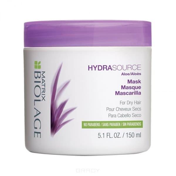 Маска для сухих волос Biolage HydrasourceСухие волосы зачастую выглядят тускло и безжизненно. Вдохновленная свойствами алоэ, маска Biolage HYDRASOURCE  (ГидраСурс) помогает оптимизировать гидробаланс сухих волос, возвращая им здоровый, сияющий вид.&#13;<br>&#13;<br>Волосы в 15 раз* более увлажненные после первого использования.&#13;<br>Глубоко питает волосы&#13;<br>  &#13;<br>Восстанавливае сухие волосы, делая их более послушными&#13;<br>  &#13;<br>Формула без парабенов&#13;<br>  &#13;<br>Подходит для окрашенных волос&#13;<br>&#13;<br>    &#13;<br>  &#13;<br>  * При использовании системы из шампуня, кондиционера и несмываемого спрея-вуаль ГИДРАСУРС по сравнению с шампунем без кондиционирующих свойств.&#13;<br>&#13;<br>  Применение:&#13;<br>&#13;<br>  Нанести на влажные волосы и оставить на 3-5 минут. Тщательно смыть. В случае попадания в глаза немедленно промыть водой. Для нормальных и тонких волос. Для наибольшего увлажнения рекомендуется использовать с шампунем Biolage HYDRASOURCE™. Использовать раз или два раза в неделю вместо кондиционера Biolage HYDRASOURCE™.<br>