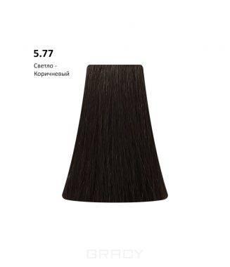 Купить BB One, Перманентная крем-краска Picasso Colour Range без аммиака (76 оттенков) 5.77Light Brown/Светло-Коричневый
