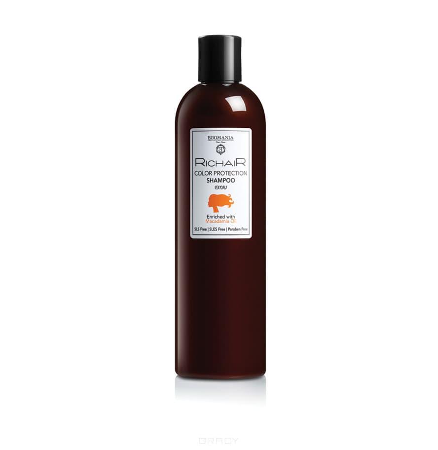 Egomania, Шампунь защита цвета с маслом макадамии Richair, 400 млGreenism - эко-серия для ухода<br><br>