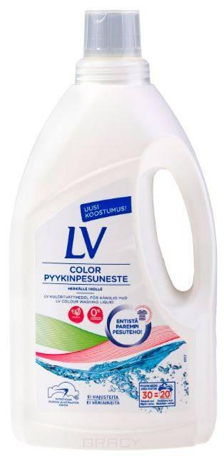 LV, Концентрированное жидкое средство для стирки, 1,5 л жидкое средство wellery для стирки детской одежды 5 л