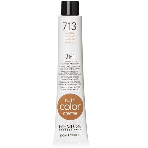 Revlon, Крем-краска для волос 3 в 1 Nutri Color Creme, (52 оттенка) 713 Гаванна краска для волос колор кроссворд 5 букв