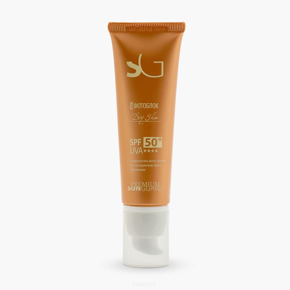 Premium, Крем фотоблок Dry Skin SPF 50, 50 мл premium крем фотоблок dry skin spf 50 50 мл
